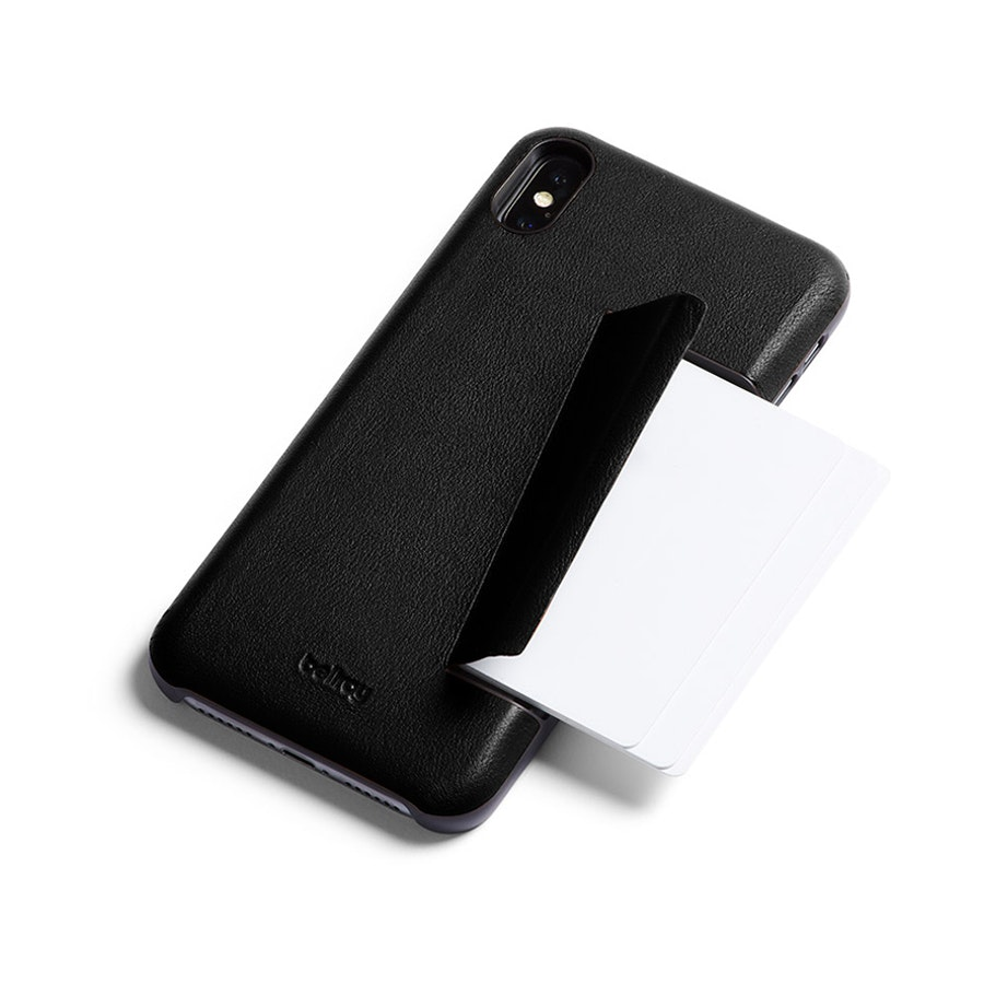 f883aaade1 Bellroy iPhone XS Max Phone Case - 3 Card Black