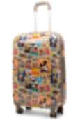Disney Mickey and Minnie 67cm Spinner Suitcase