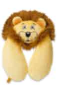 Go Travel Lion Kids Travel Neck Pillow Gold