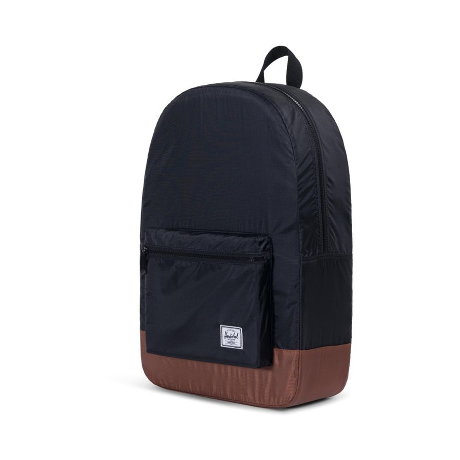 f110ed606b4 Herschel Packable Daypack Black with Tan