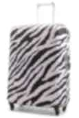 NZ Luggage Co Large Stretchy Spandex Luggage Cover Zebra