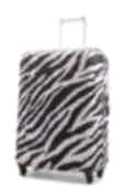 NZ Luggage Co Medium Stretchy Spandex Luggage Cover Zebra