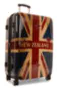 NZ Luggage Co NZ Flag Collection 78cm Spinner Suitcase Navy