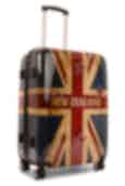 NZ Luggage Co NZ Flag Collection 68cm Spinner Suitcase Navy
