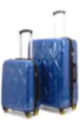 NZ Luggage Co Stratosphere 56cm & 76cm Hardside Luggage Set