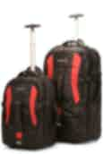 Raglan Point  Wheelie Backpack Set - 40L & 110L