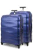 Samsonite Engenero Diamond 75cm & 75cm Hardside Luggage Set Navy